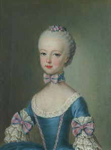 Archduchess Maria Antonia, the future Queen Marie Antoinette of France