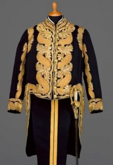 Full dress uniform of a highest-ranking dignitary of the Court Household, c. 1913
