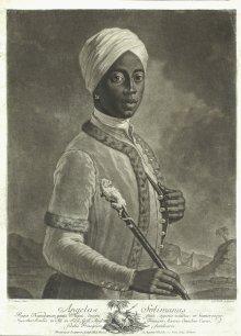 J. G. Haid (after J. N. Steiner): Angelo Soliman, mezzotint, c. 1750