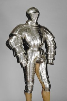 A suit of equestrian armour, c. 1550