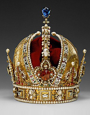 The Austrian Imperial Crown (the personal crown of Rudolf II)