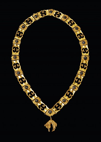 Collar of the Order of the Golden Fleece, Burgundy / Netherlands, 15th century