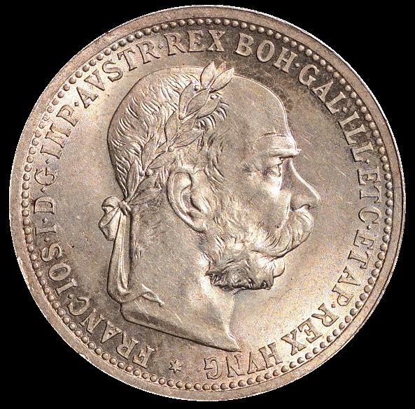 Münze 1 Krone 1899 Abgebildete Person Kaiser Franz Joseph Die