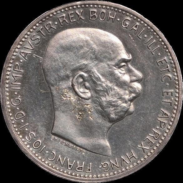 Münze 1 Krone 1912 Abgebildete Person Kaiser Franz Joseph Die