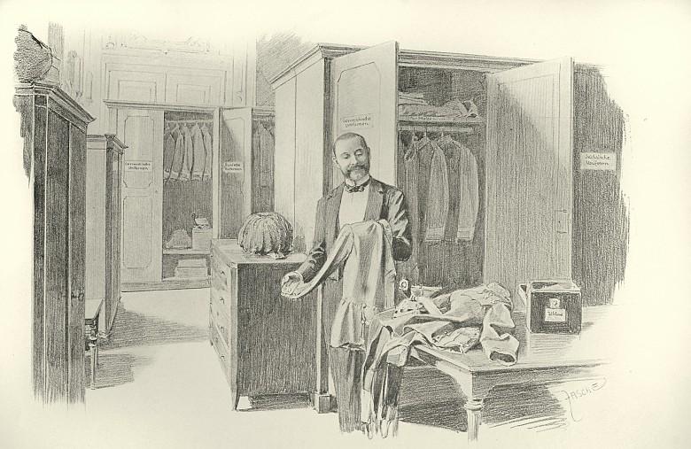 Valet De Chambre Chez Casa » Valet de chambre original meuble linge ...