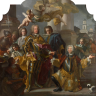 Francesco Solimena: Charles VI and Count Gundacker von Althan(n), 1728